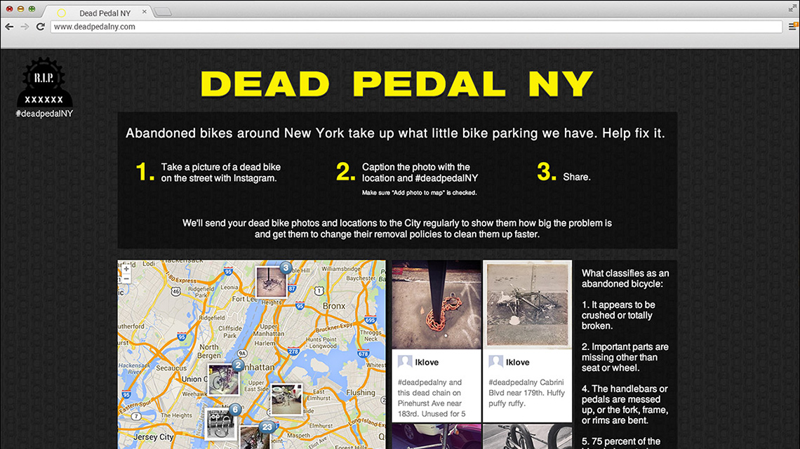 dead pedal new york project
