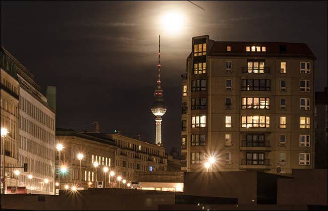 moon over berlin