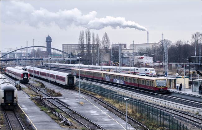 trains in berlin