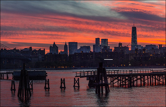 Sunset Panorama New York
